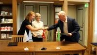 Ida-Tallinna Keskhaigla sõlmis koostööleppe Vanalinna Hariduskolleegiumiga, et anda noortele teadmisi meditsiinist.