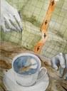 Ilon Wiklandi nimelisel illustratsioonikonkursil  pälvis Mari Poom XII klassist III preemia