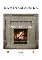"""KAMINAMUUSIKA kontsert Kaido Suss """"Oma lauludega"""""""